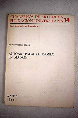 9788473922999: Antonio Palacios ramilo en Madrid
