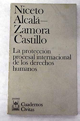 9788473980098: La protección procesal internacional de los derechos humanos (Cuadernos Cívitas) (Spanish Edition)