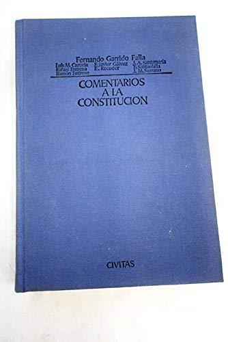 9788473980975: Comentarios a la Constitución (Spanish Edition)