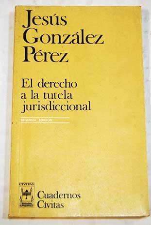 9788473986571: el_derecho_a_la_tutela_jurisdiccional