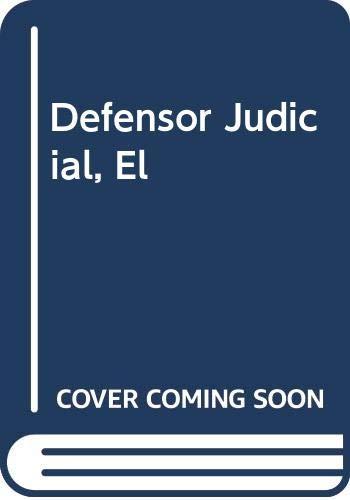 9788473987141: El Defensor Judicial (Cuadernos Civitas)