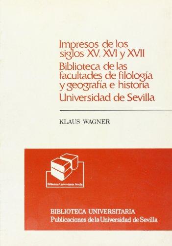 Catalogo Abreviado de Los Libros Impresos de: Klaus Wagner