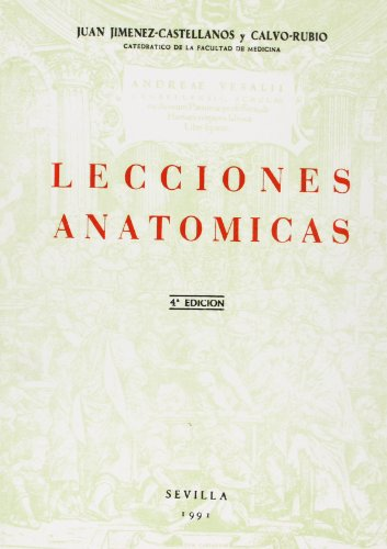 9788474056488: LECCIONES ANATOMICAS.