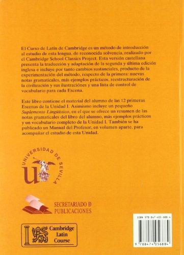 9788474056884: Curso de Lat�n de Cambridge Libro del Alumno Unidad I: Versi�n espa�ola: 1 (Manuales Universitarios)