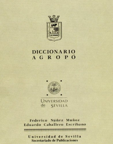 9788474056969: Diccionario Agropo