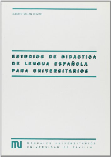 9788474058000: ESTUDIOS DE DIDACTICA DE LENGUA ESPA¥OLA