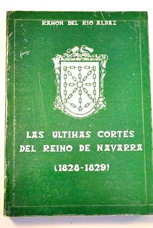 9788474072136: Ultimas Cortes Del Reino De Navarra, Las (Euskal Historia)