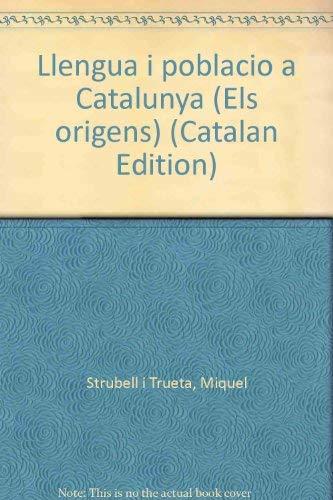 9788474100709: Llengua i població a Catalunya (Els orígens) (Catalan Edition)
