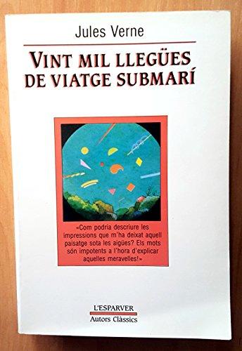 9788474101232: 20000 llegues de viatge submari (L' ESPARVER)