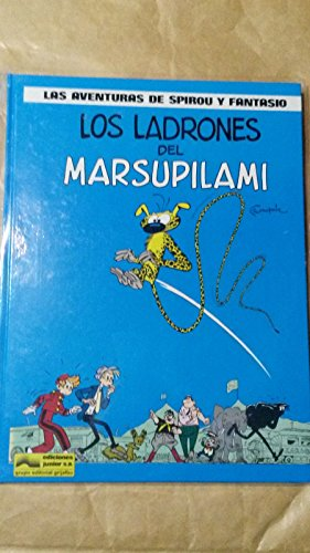 9788474195187: Los ladrones del marsupilami (las aventuras de spirou y fantasio)