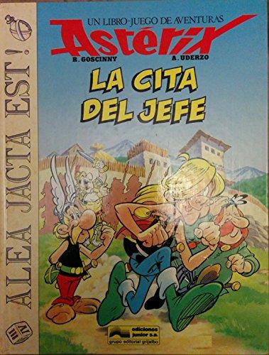 9788474195804: Cita del jefe, laun libro-juego de aventuras de asterix