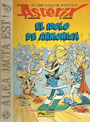 9788474195811: Idolo de armorica, elun libro-juego de aventuras de asterix