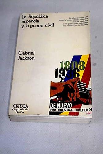 9788474230062: República española y guerra civil
