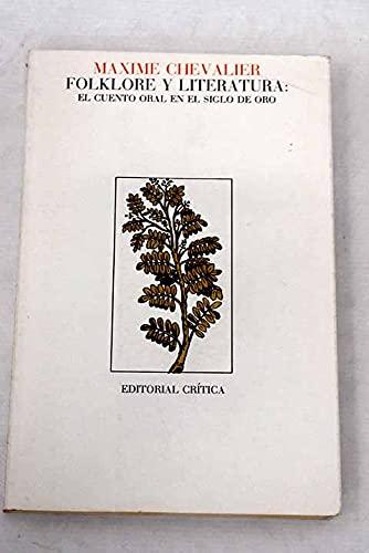 Folklore y literatura: El cuento oral en: Chevalier, Maxime