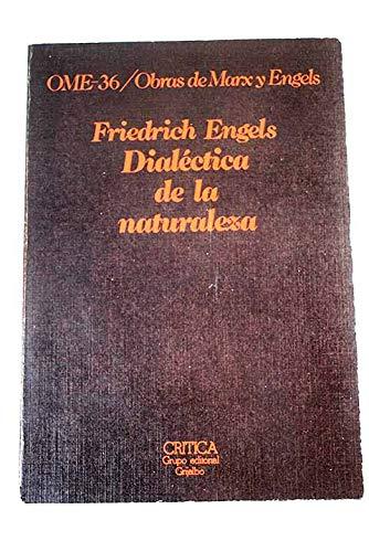 9788474230802: DIALECTICA DE LA NATURALEZA
