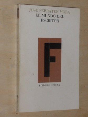 9788474232059: El mundo del escritor (Lecturas de filología) (Spanish Edition)