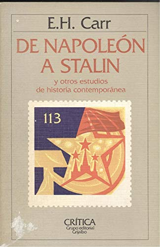 9788474232080: De napoleon a stalin y otros estudios de historia contemporanea