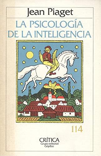 9788474232097: PSICOLOGIA DE LA INTELIGENCIA, LA