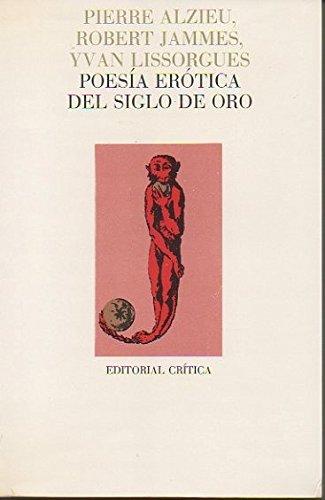 9788474232264: Poesia erotica del siglo de oro (Lecturas de filolog¸a)
