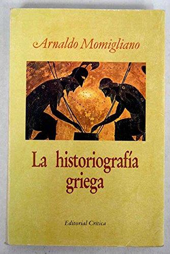 9788474232431: La historiografía griega