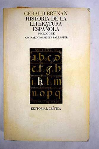 9788474232448: Historia de la literatura española