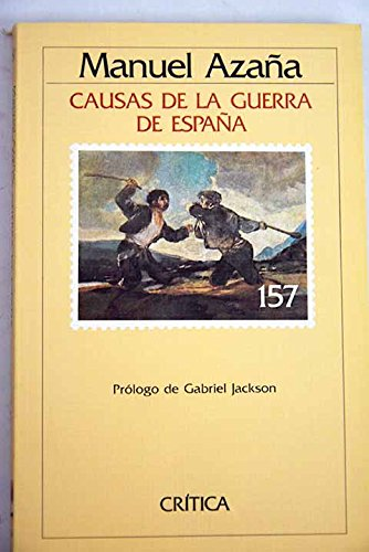 9788474232837: Causas de Guerra de España (Serie general)