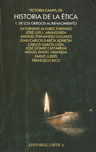 9788474233360: Historia de la ética (Crítica/filosofía) (Spanish Edition)