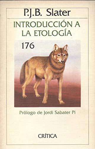 Introducción a la etología: Slater, Peter, Vallespinós,