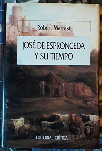 9788474234282: José de Espronceda y su tiempo