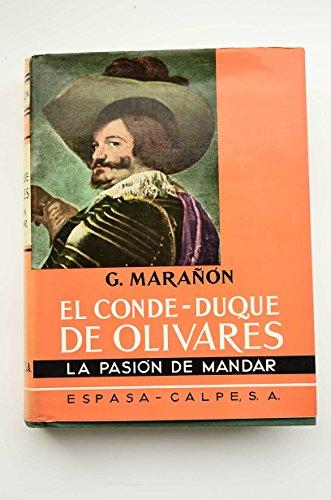 9788474234398: El conde-duque de Olivares