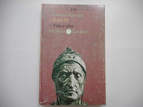 9788474234718: Dante, vida y obra