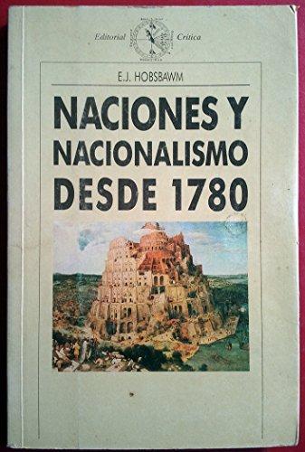 9788474235159: Naciones y nacionalismo desde 1780
