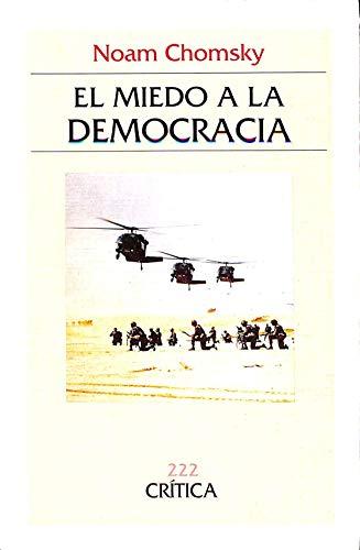 9788474235432: El miedo a la democracia