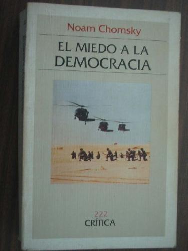 9788474235432: El Miedo a la Democracia (Spanish Edition)