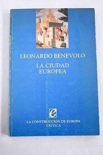 9788474235708: Ciudad Europea, La (Spanish Edition)