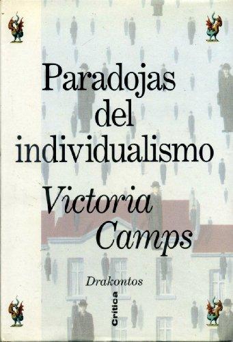9788474235913: Paradojas del individualismo