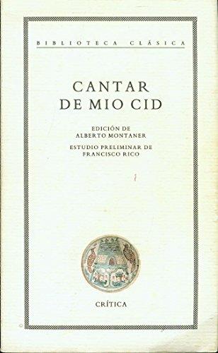 9788474235920: Cantar de Mio Cid (Biblioteca clásica) (Spanish Edition)