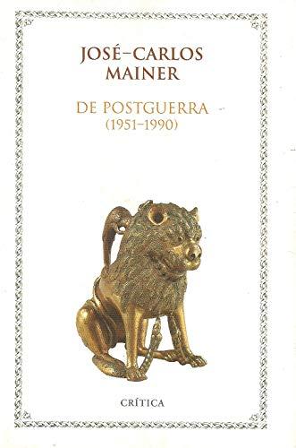9788474236569: De postguerra (Filología)