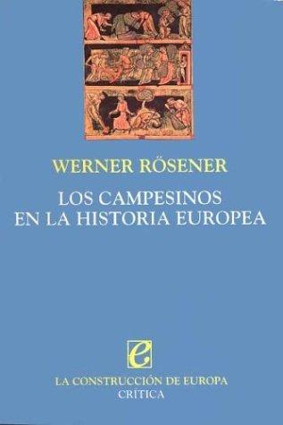 9788474236828: Los Campesinos En La Historia Europea (Spanish Edition)