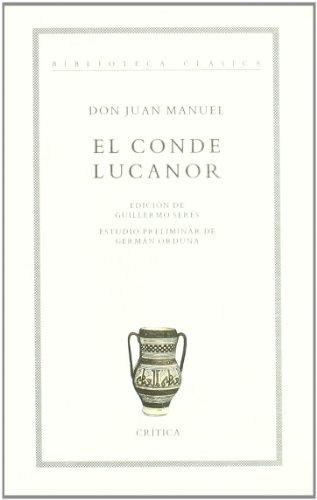 9788474237092: El conde Lucanor (Biblioteca clásica)