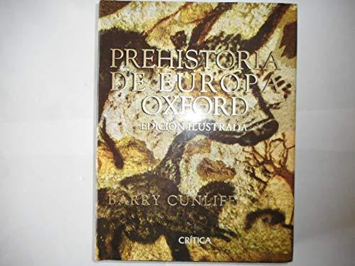 9788474237726: Prehistoria de Europa Oxford