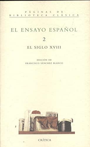 9788474238587: El ensayo español -2