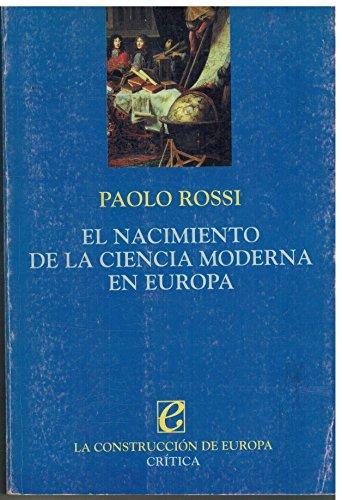 9788474238952: El nacimiento de la ciencia moderna en Europa