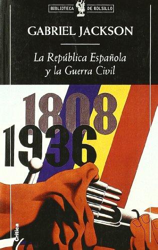 9788474239485: La República española y la guerra civil (Biblioteca de Bolsillo)