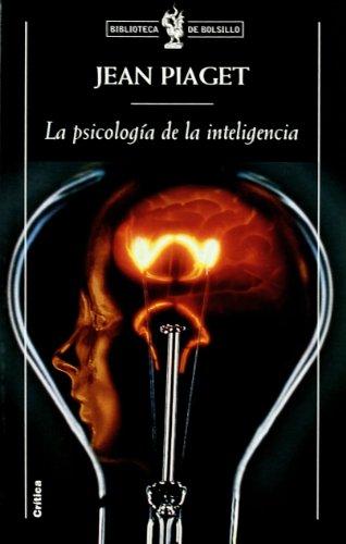 9788474239805: Psicologia De La Inteligencia , La
