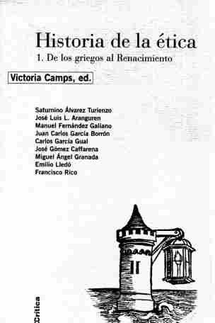 9788474239843: Historia de La Etica 1 - de Griegos Al Renacimient (Spanish Edition)