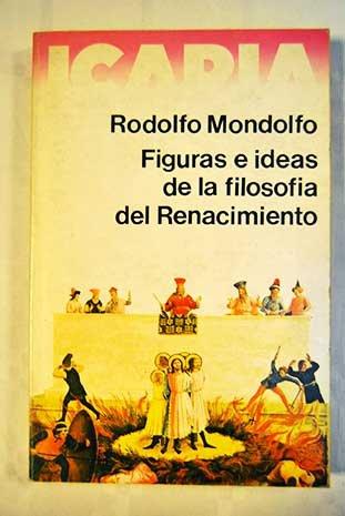 9788474260632: Figuras e ideas de la filosofía del Renacimiento