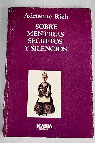 9788474260915: Sobre mentiras, secretos y silencios