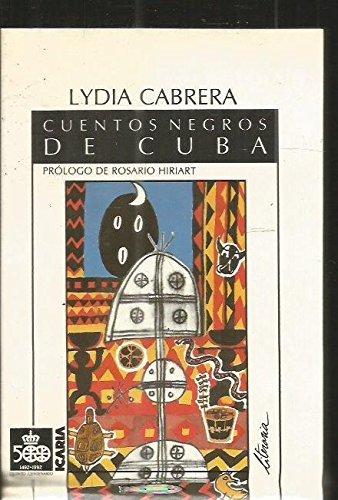 9788474261547: Cuentos negros de Cuba (Icaria Literaria)