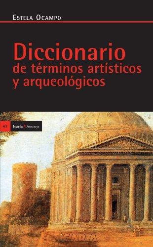 9788474261912: Diccionario Términos Artísticos (Antrazyt)